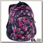 Рюкзак PULSE TEENS BLACK FLOWER