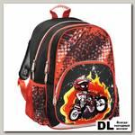 Рюкзак Hama Motorbike (черный/красый)