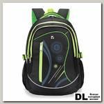 Школьный рюкзак BRAUBERG 30L Неон Чёрный