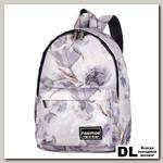 Рюкзак NOSIMOE 8303-10 Цветы-сер-акварель