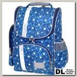 Школьный рюкзак Asgard Р-2401 Звезды синие-серые