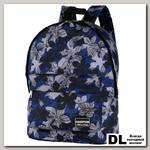 Рюкзак NOSIMOE 010-10D Цветы-син-сер