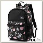 Рюкзак PUMA Academy Backpack Розовые цветы