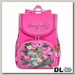 Рюкзак школьный с мешком Grizzly RA-973-3 Розовый