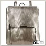 Кожаный рюкзак Monkking 516 рептилия серебро