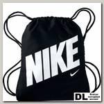 Детский мешок для обуви Kids' Nike Graphic Gym Sack Чёрный/Белый