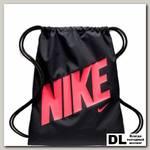 Детский мешок для обуви Kids' Nike Graphic Gym Sack Чёрный/Красный