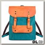 Рюкзак Ginger Bird Грог 16 голубой (лиса)