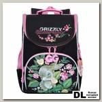 Рюкзак школьный с мешком Grizzly RA-973-3 Чёрный