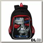 Рюкзак школьный Grizzly RB-052-2 Чёрный