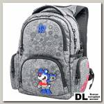 Рюкзак WINmax К-542 Серый (синяя эмблема)