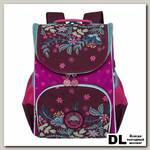 Рюкзак школьный с мешком Grizzly RAm-084-2 Фиолетовый/Фуксия