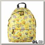 Молодёжный рюкзак BRAUBERG Сити-формат Совушки в цветах