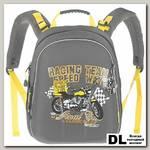 Школьный рюкзак Grizzly Moto Gray Ra-542-5
