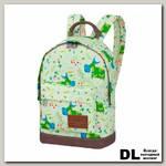 Мини рюкзак Asgard Р-5424 Коровы зеленый
