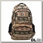 Молодёжный рюкзак BRAUBERG Узоры Big Слоны