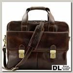 Сумка для ноутбука Tuscany Leather REGGIO EMILIA Темно-коричневый
