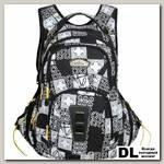 Школьный рюкзак Monkking Patch черный
