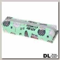 Пенал СовыЛес зеленый С-5510