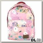Рюкзак Asgard Цветы Пастель лилово-розовый Р-5736