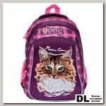 Школьный рюкзак Orange Bear V-52 Cat лиловый