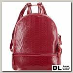 Кожаный рюкзак Monkking 523 рептилия бордо