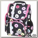 Школьный рюкзак Asgard Р-2401 Пончик черно-розовый