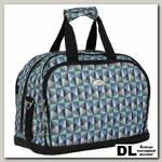 Дорожная сумка Polar П7092 (треугольники)
