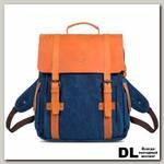 Рюкзак Ginger Bird Винтер Пак с карманами синий (шары)