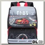 Школьный ранец Grizzly Play Time Gray RA-777-1
