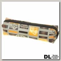 Пенал Машины корич-оранж С-5210