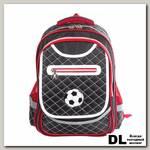 Школьный рюкзак BRAUBERG стёганый Мяч