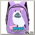 Детский рюкзак Grizzly Cute Cat Purple Rs-764-7