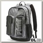 Рюкзак PUMA Deck Backpack II Серый/Чёрный