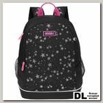 Рюкзак школьный Grizzly RG-063-3 Чёрный