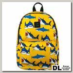 Рюкзак Zain акулы желтый