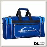 Спортивная сумка Polar 6007/6 Синий (голубые вставки)