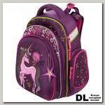 Школьный рюкзак-ранец Hummingbird TK71 Purple unicorn